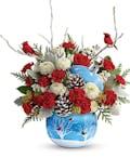 Winter Wonderland Ornament Bouquet