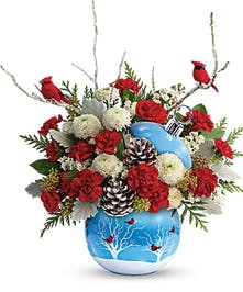 Winter Wonderland Ornament Bouquet