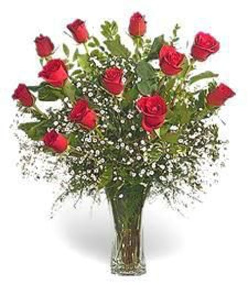 One Dozen Roses-Out of Town - Choose The Color!