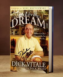 """NEW!"" Limited Edition Autographed by Dickie V!"