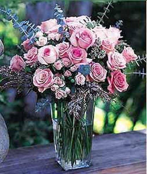 Exquisite Pink Rose Bouquet