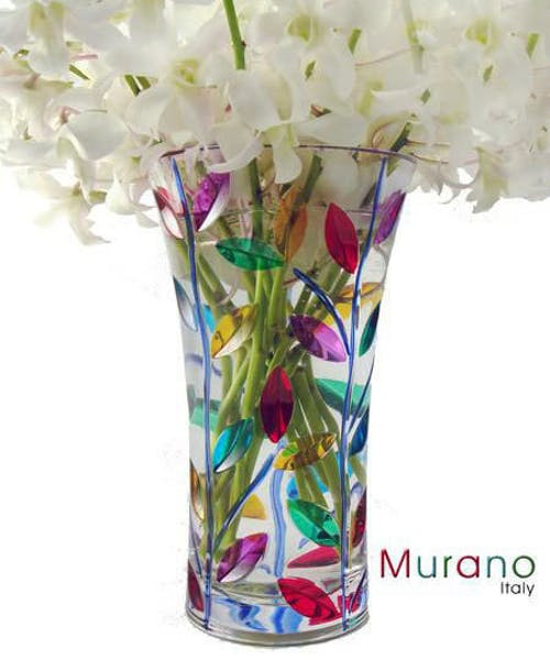 Laurus Vase by Murano (imported from Italy)