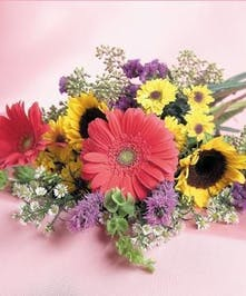 send fresh loose flowers today!