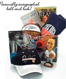 Autographed Basketball & Bobblehead Included!