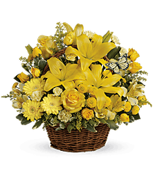 Our Most Popular Fresh Flower Basket!