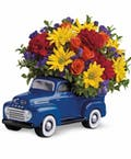 Classic Ford Pickup Bouquet