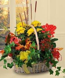 Blooming Harvest Basket