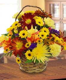 Harvest Basket Bouquet