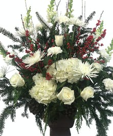 A Winter's Day Remembrance Arrangement