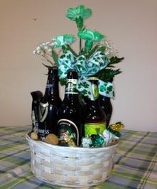 A St Patrick's Beer Bouquet