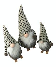 Skiing Santa Gnomes (buy 1 or all 3!)