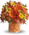Candy Corn Bouquet