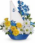 Ahoy It's A Boy Bouquet