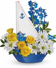 Ahoy It's A Boy Bouquet
