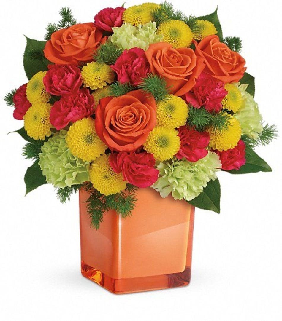 Bold And Beautiful Bouquet Cincinnati Florist Adrian Durban