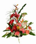 Tropical Exotic Flower Arrangement