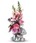 Valentine Bear Hug Bouquet