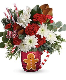 Gingerbread Hug Bouquet