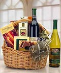 Basket full of Gourmet Goodies & Wine!