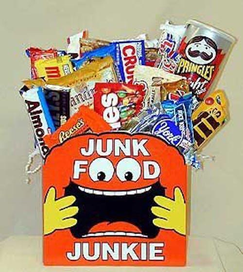 Junk Food Junkie Gift Box