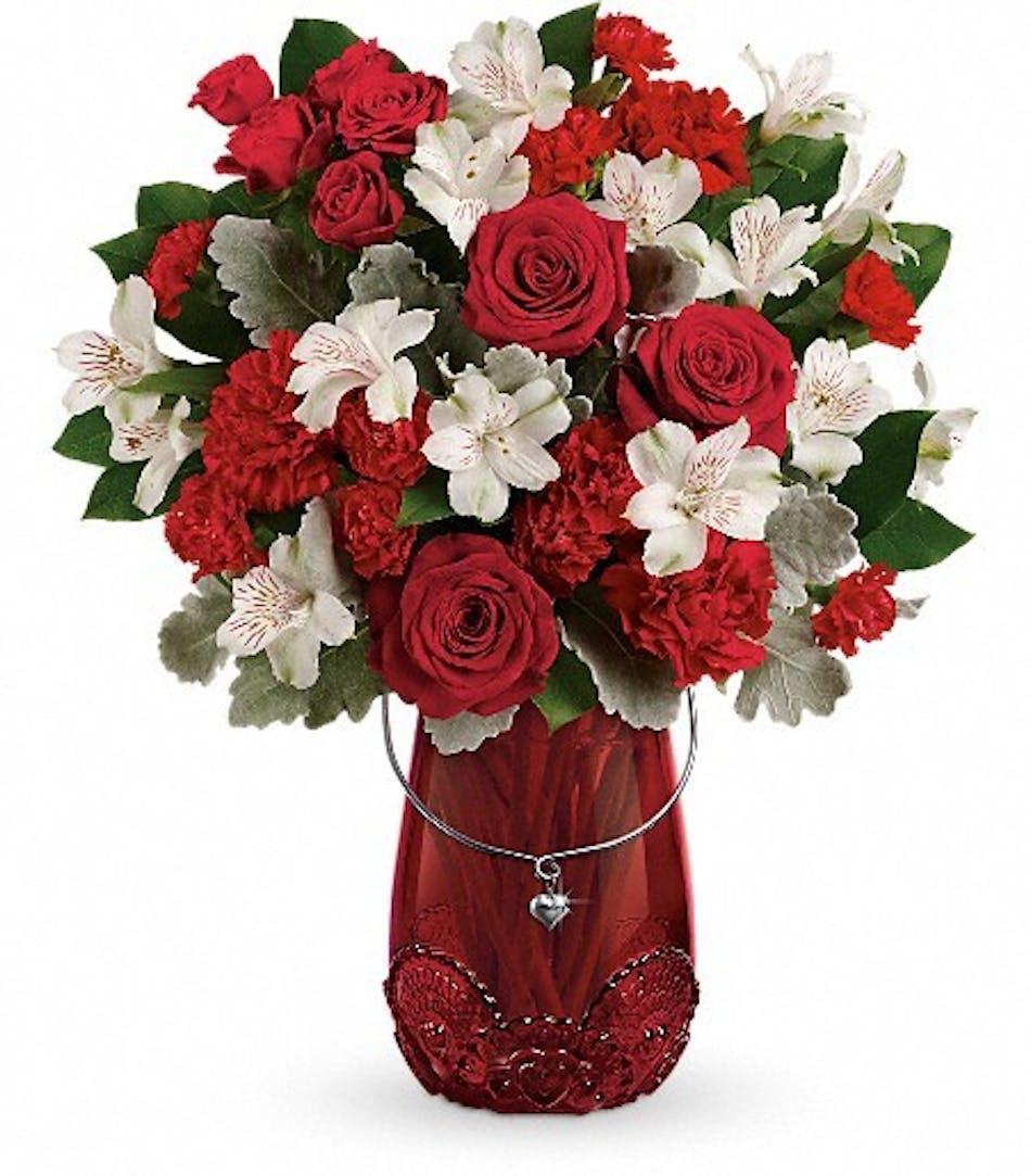 Red Valentine's Day Bouquet Cincinnati