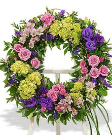 Bright Mix Wreath