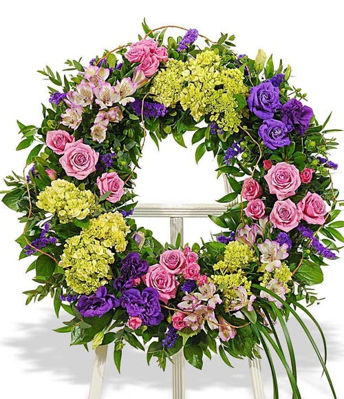 Bright Mix Wreath
