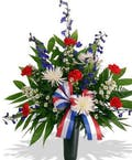 Patriotic Tribute - Red White & Blue