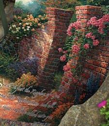 Thomas Kinkade™ Rose Garden Throw