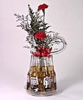 6 Pack Corona with Flowers