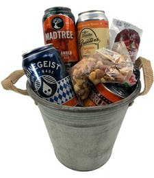 Autumn Brew Bucket!   Filled with Fall Local Beers and more!
