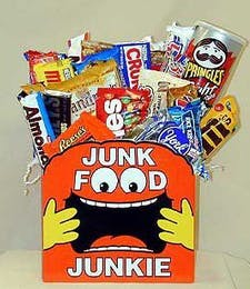 Junk Food Junkie Gift Box