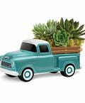 Chevy Pickup with Plants