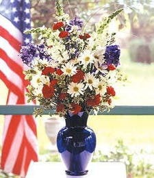 Patriotic Spirit Bouquet