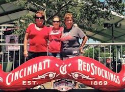 ADF team members attending a Cincinnati Reds baseball game